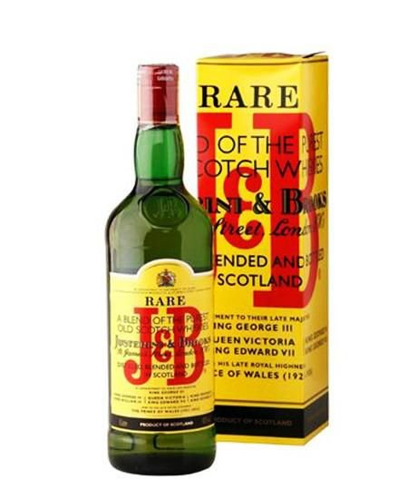 J&B RARE WHISKY ESCOCES BLEND 1 LITRO