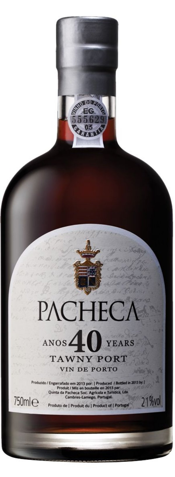 PACHECA TAWNY 40 ANOS VINHO PORTO PORTUGUES 750ML