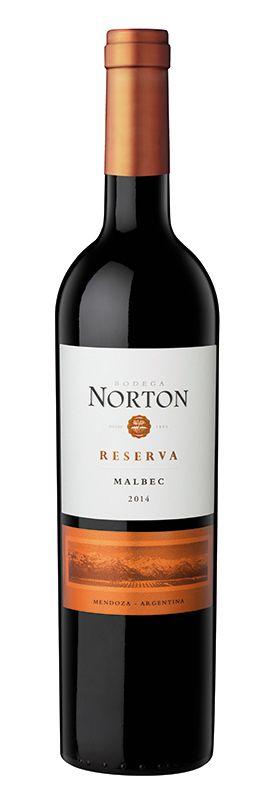 NORTON RESERVA MALBEC VINHO ARGENTINO TINTO 750ML