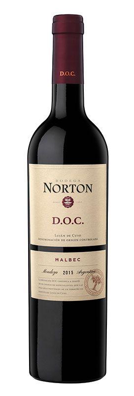 NORTON MALBEC DOC VINHO ARGENTINO TINTO 750ML