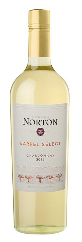NORTON BARREL SELECT CHARDONNAY VINHO ARGENTINO BRANCO 750ML