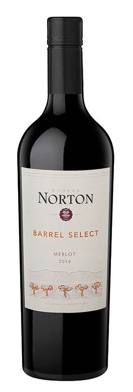 NORTON BARREL SELECT MERLOT VINHO ARGENTINO TINTO 750ML