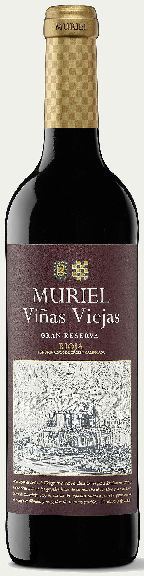 MURIEL FINCAS DE LA VILLA GRAN RESERVA VINHO ESPANHOL TINTO 750ML