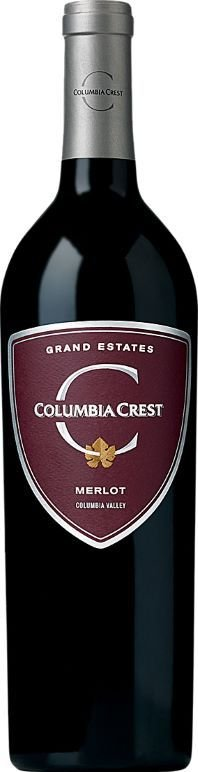 COLUMBIA CREST MERLOT GRAND ESTATES VINHO USA TINTO 750 ML