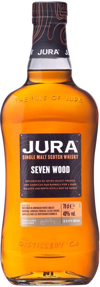 JURA SEVEN WOOD SINGLE MALT SCOTCH WHISKY ESCOCES 700ML