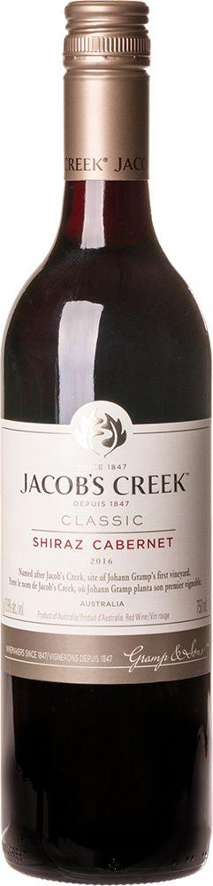 JACOB'S CREEK SHIRAZ CABERNET SAUVIGNON VINHO AUSTRALIANO TINTO 750ML