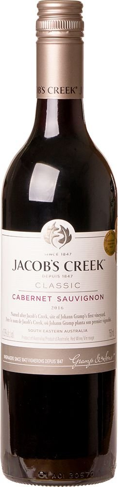 JACOB'S CREEK CABERNET SAUVIGNON VINHO AUSTRALIANO TINTO 750ML