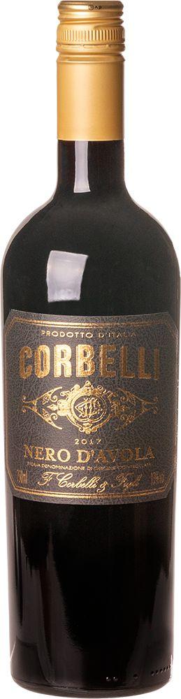 CORBELLI NERO D´AVOLA SICILIA VINHO ITALIANO TINTO 750ML