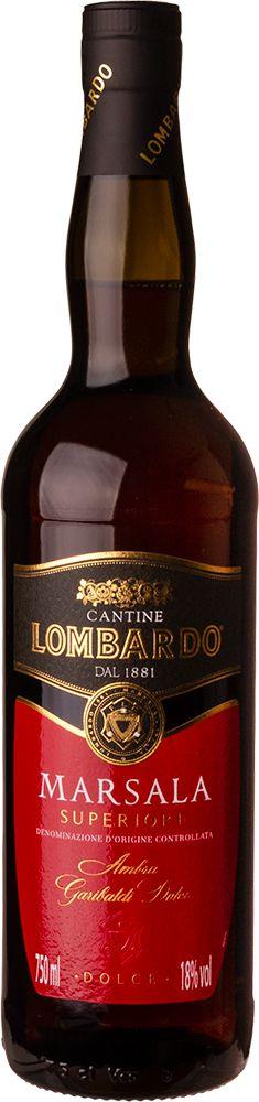 MARSALA LOMBARDO DOLCE VINHO ITALIANO 750ML