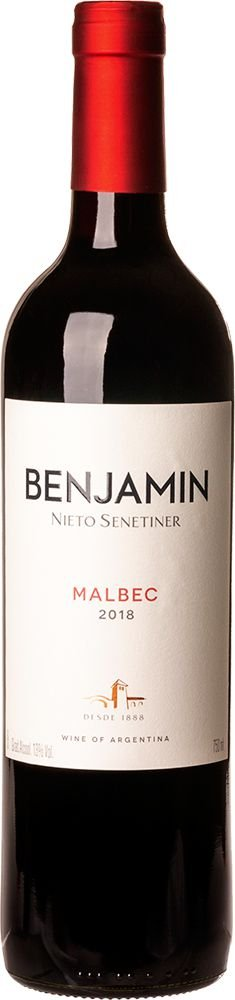 BENJAMIN NIETO SENETINER MALBEC VINHO ARGENTINO TINTO 750ML