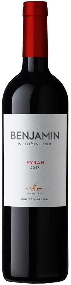 BENJAMIN NIETO SYRAH VINHO ARGENTINO TINTO 750ML