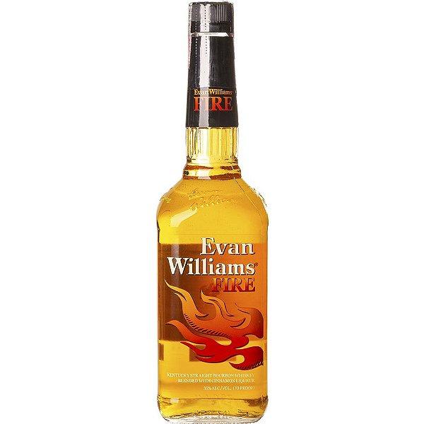 EVAN WILLIAMS FIRE LICOR USA 750ML