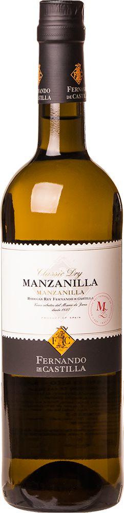 FERNANDO DE CASTILLA JEREZ MANZANILLA VINHO ESPANHOL 750ML