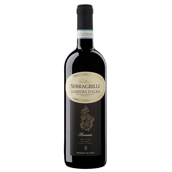 BARBERA D´ALBA DOC SERRAGRILLI SERRAIA VINHO ITALIANO TINTO 750ML