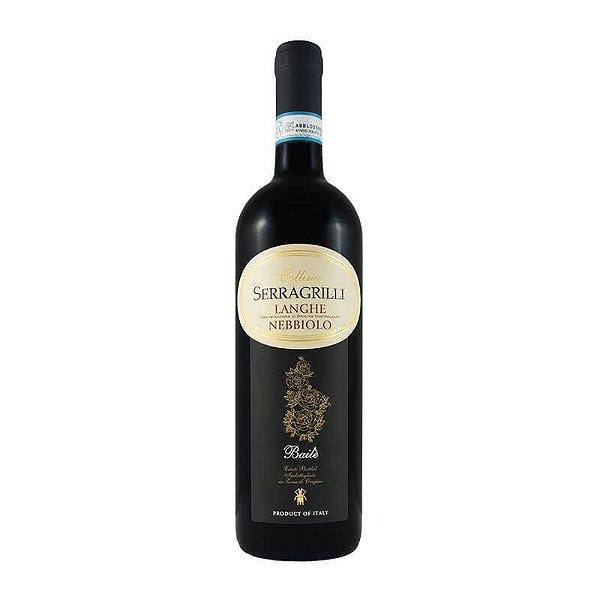 LANGUE NEBBIOLO BAILÈ SERRAGRILLI VINHO ITALIANO TINTO 750ML