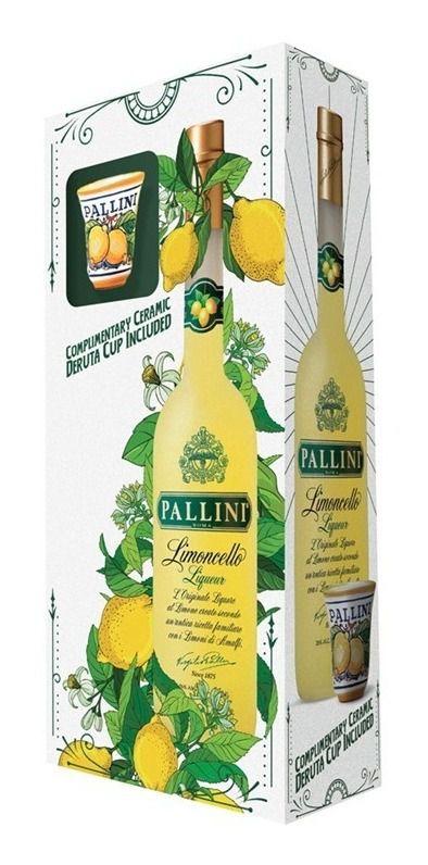 LIMONCELLO PALLINI C/COPO LICOR ITALIANO 500ML