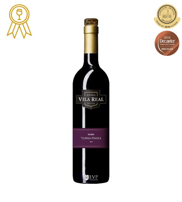 VILA REAL TOURIGA FRANCA VINHO PORTUGUES TINTO 750ML