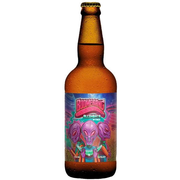 BOOMERANG ALCOHABATA WITBIER 500ML