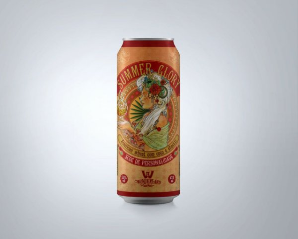 WONDERLAND SUMMER GLORY AMERICAN WHEAT ALE LTA 473ML