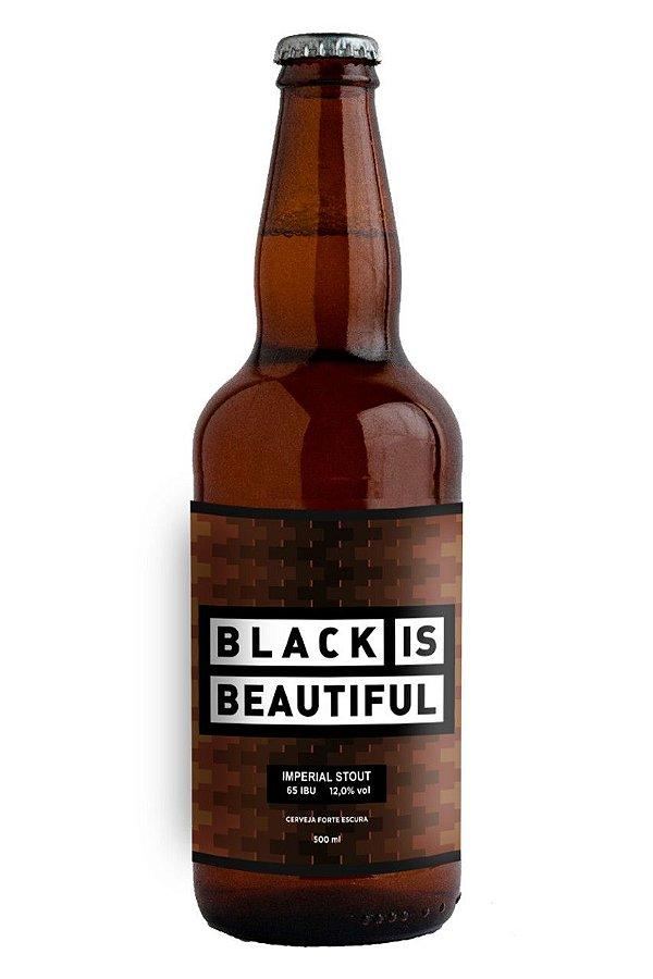 MITO STOUT BLACK IS BEAUTIFUL GFA 500ML