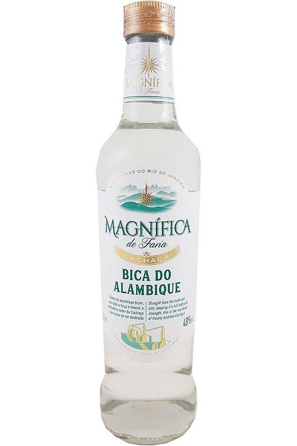 MAGNÍFICA CACHAÇA BICA DO ALAMBIQUE 500ML