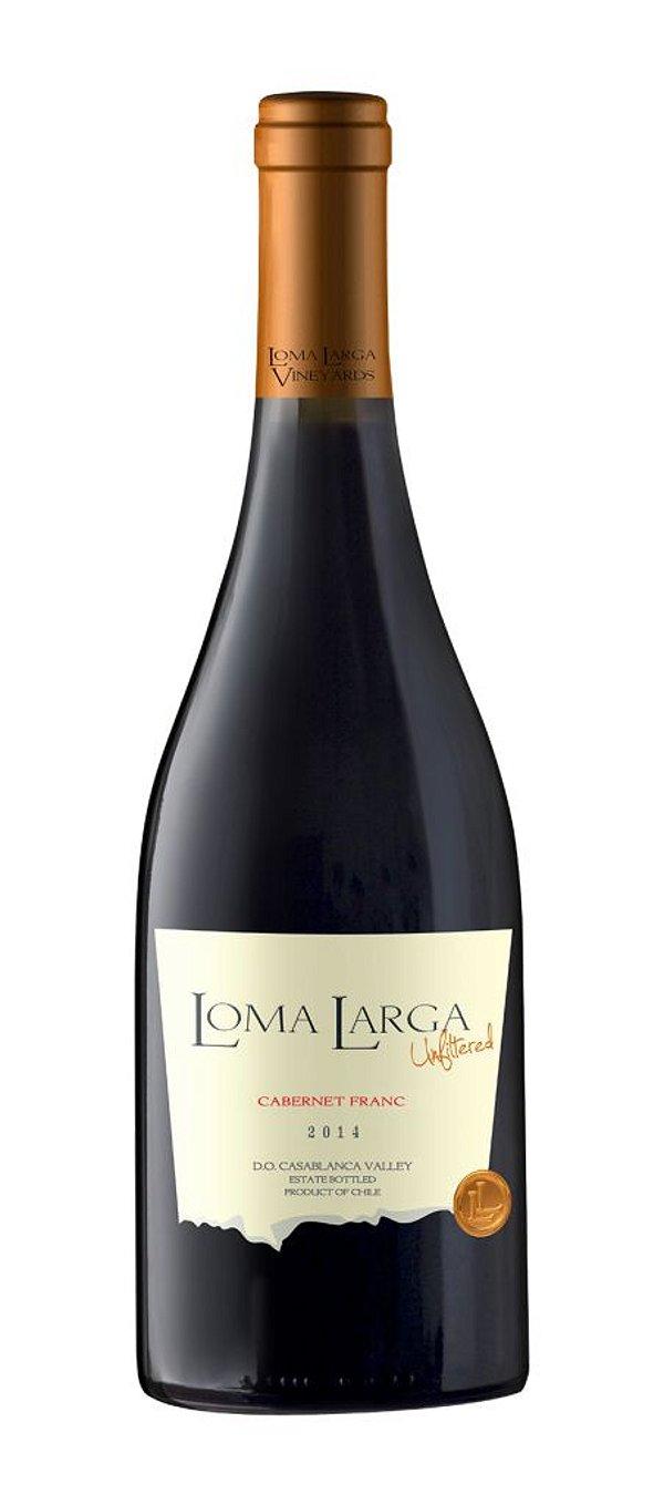 LOMA LARGA CABERNET FRANC VINHO CHILENO TINTO 750ML