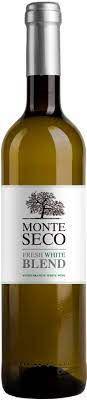 MONTE SECO FRESH WHITE BLEND VINHO PORTUGUES BRANCO 750ML