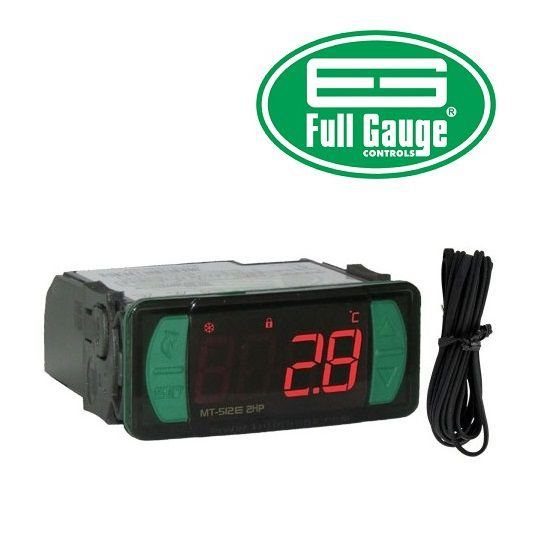 CONTROLADOR DE TEMPERATURA - FULL GAUGE MT512E 2HP