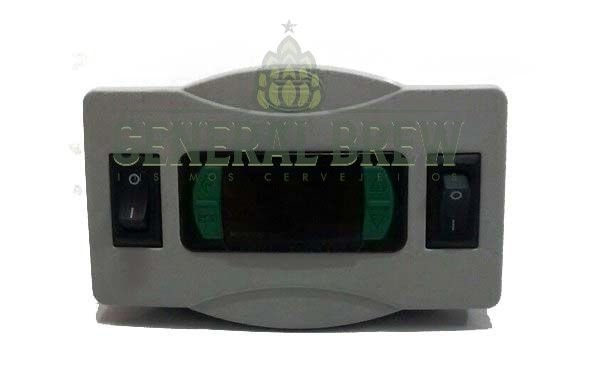 CONTROLADOR DE TEMPERATURA MONTADO - FULL GAUGE MT512E 2HP