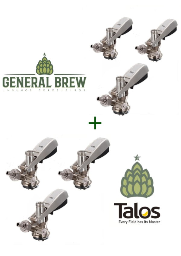 Kit 6 extratora Talos