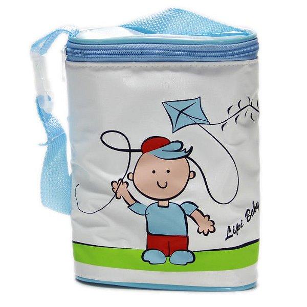 Porta Mamadeira Duplo Protetor Térmico Soft Pipa