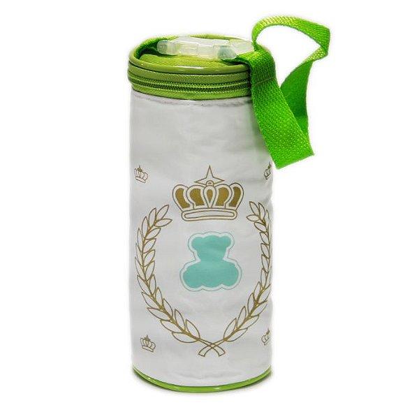 Porta Mamadeira Protetor Térmico Verde Unisex