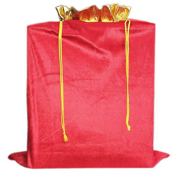 Saco De Presente Em Veludo Saco Do Papai Noel 80 X 65 cm AxL