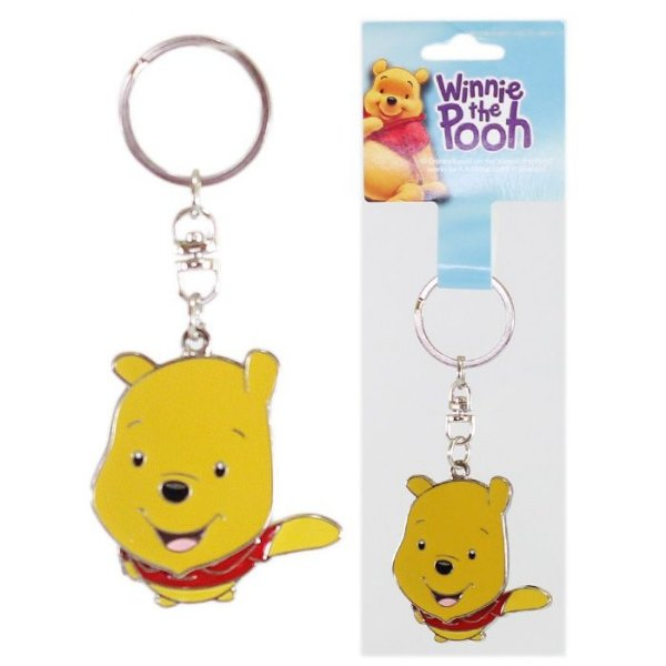 Chaveiro Disney Ursinho Pooh Turma Winnie The Pooh Em Metal