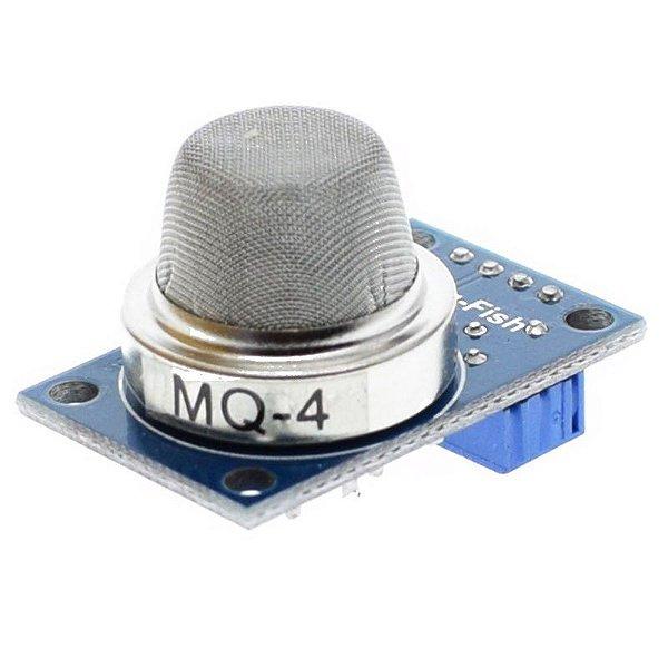 Sensor de Gás Metano - MQ-4