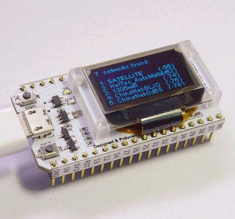 Módulo Lora Esp32 Com Display Oled Wifi Bluetooth 433 Mhz