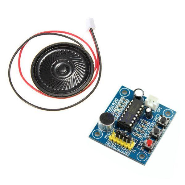 Módulo Gravador de Voz e Player ISD1820 com Alto-Falante