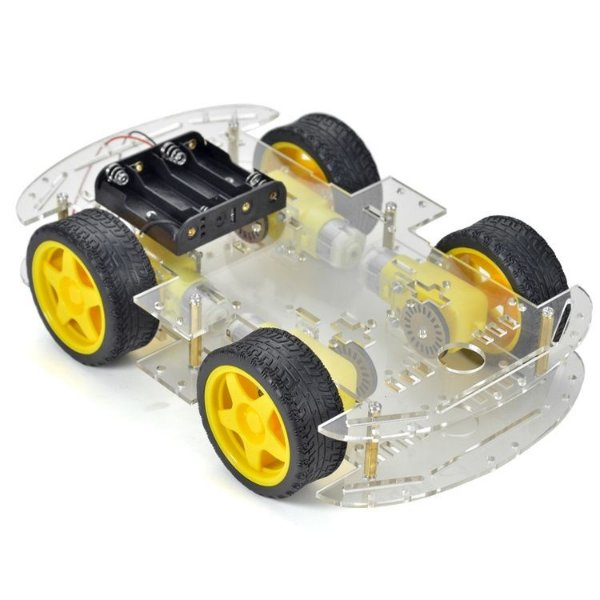 Kit Chassi Robô para Arduino - 4 Rodas