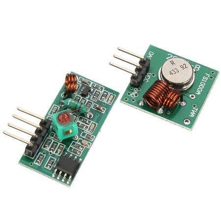 Módulo RF (Rádio Frequência) - Emissor e Receptor - 433Mhz AM