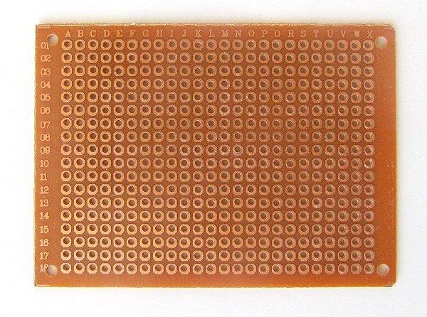 Placa Perfurada de Fenolite - PCB Ilhada