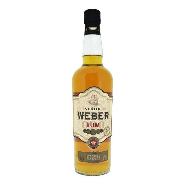 Rum Weber Haus Ouro 700ml