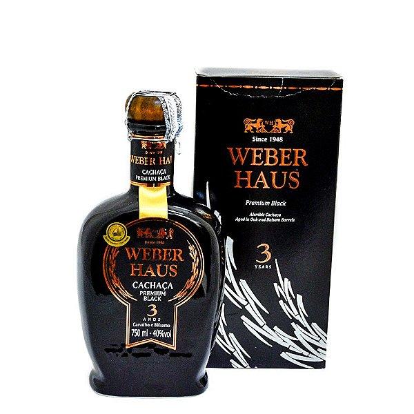 Cachaça Weber Haus Black 750ml