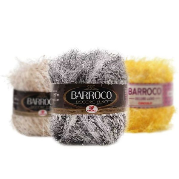 Barbante Barroco Decore Luxo Multicolor