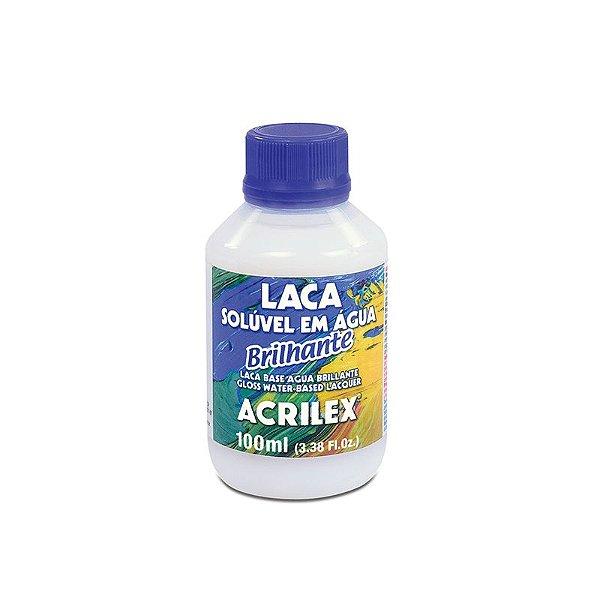 Goma Laca Brilhante Solúvel em Água 100 ml
