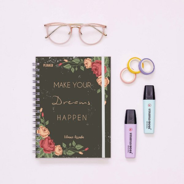 Planner Anual - Make your dreams