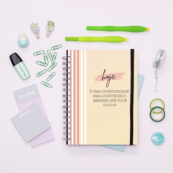 Caderno - Hoje