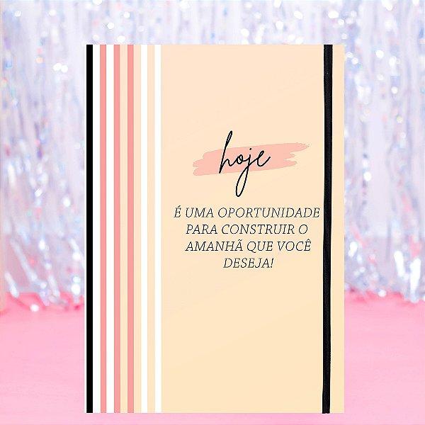 Caderno Flexível - Hoje