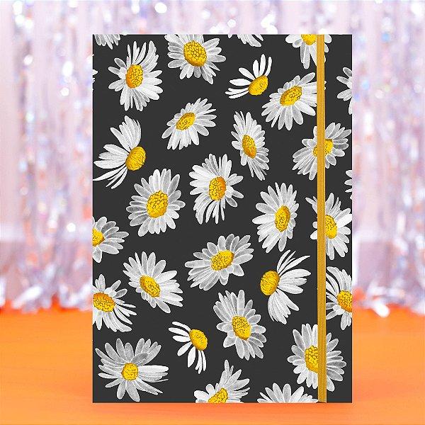 Caderno Flexível - Margarida