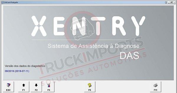 Mercedes DAS Xentry 09.2019 Developer