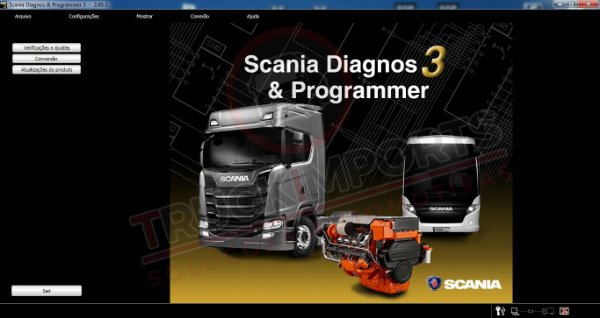 Scania SDP3 Industrial 2.41 Original 2019